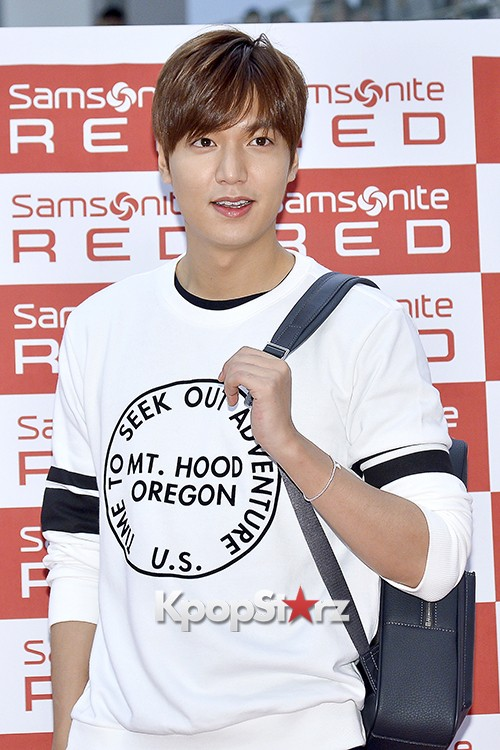 Lee Min Ho at Samsonite Red Fansign Event key=>18 count29