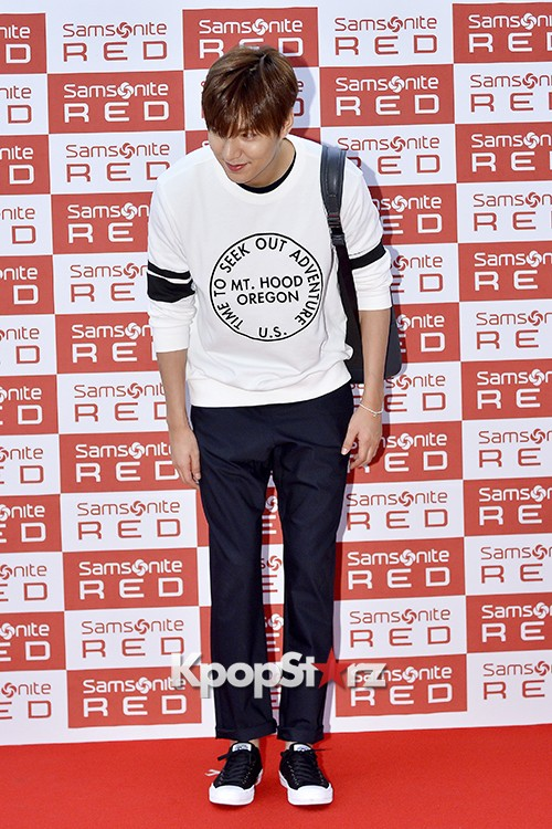 Lee Min Ho at Samsonite Red Fansign Event key=>22 count29