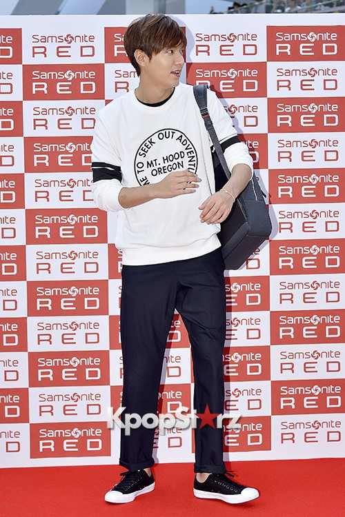 Lee Min Ho at Samsonite Red Fansign Event key=>23 count29