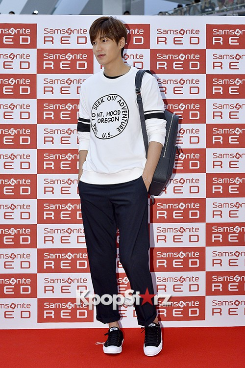 Lee Min Ho at Samsonite Red Fansign Event key=>28 count29