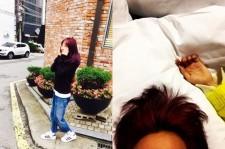 Dara and G-Dragon