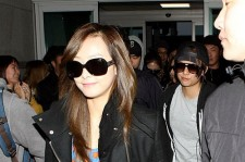 f(x) at Incheon Airport Leaves for 'SMTOWN LIVE WORLD TOUR III in SINGAPORE'