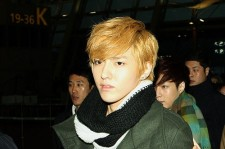 EXO-M at Incheon Airport Leaves for 'SMTOWN LIVE WORLD TOUR III in SINGAPORE'