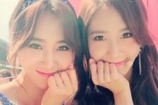 Girls Generation Yuri and Yoona