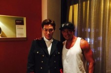 T.O.P with Choo Sung Hoon (Photo courtesy of T.O.P's Instagram)