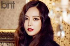 Brown Eyed Girls Miryo BNT International Magazine September 2015 Photoshoot