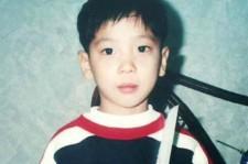 CNBLUE Jung Yong Hwa Childhood Photo