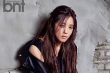 T-ARA Hyomin BNT International Magazine September 2015 Photoshoot Fashion