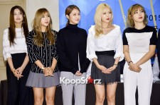 4Minute Attends Cube Festival Press Conference