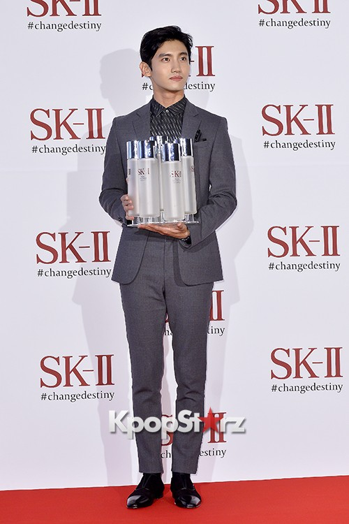 TVXQ's Max Changmin Attends SK-II Pitera Night key=>7 count20