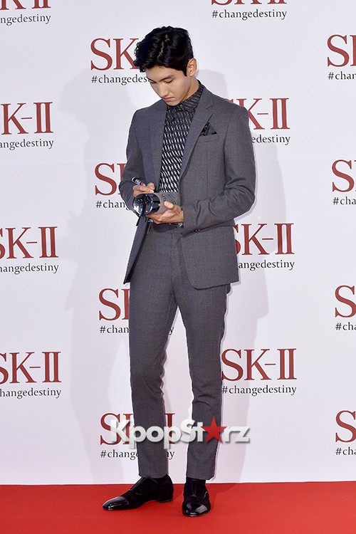 TVXQ's Max Changmin Attends SK-II Pitera Night key=>14 count20