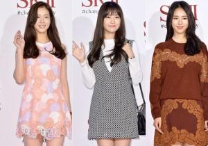 Kyung Soo Jin, Song Ji Eun and Lee Yeon Hee Attend SK-II Pitera Night