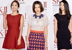 Jun Hye Bin, Chae Jung Ahn and Tang Wei Attend SK-II Pitera Night