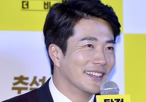 Kwon Sang Woo at a Press Conference of Upcoming Film 'Detective: The Beginning'