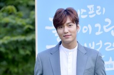 Lee Min Ho Attends Innisfree Play Green Festival