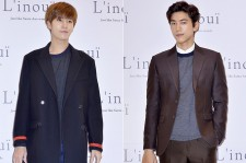 No Min Woo and Sung Joon Attend L'inoui Store 2nd Anniversary Event - Sep 12, 2015 [PHOTOS]