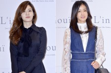 Sung Yoo Ri and Lee Si Young Attend L'inoui Store 2nd Anniversary Event