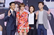 Press Conference of MBC Drama 'She Was Beatiful'