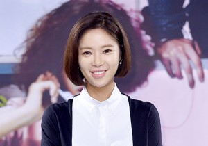 Hwang Jung Eum at a Press Conference of MBC Drama 'She Was Pretty'