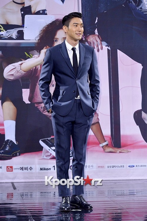 Super Junior's Choi Siwon at a Press Conference of MBC Drama 'She Was Pretty' key=>2 count39
