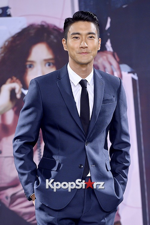 Super Junior's Choi Siwon at a Press Conference of MBC Drama 'She Was Pretty' key=>3 count39