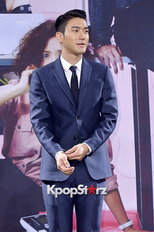 Super Junior's Choi Siwon at a Press Conference of MBC Drama 'She Was Pretty' key=>4 count39