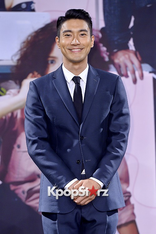 Super Junior's Choi Siwon at a Press Conference of MBC Drama 'She Was Pretty' key=>0 count39