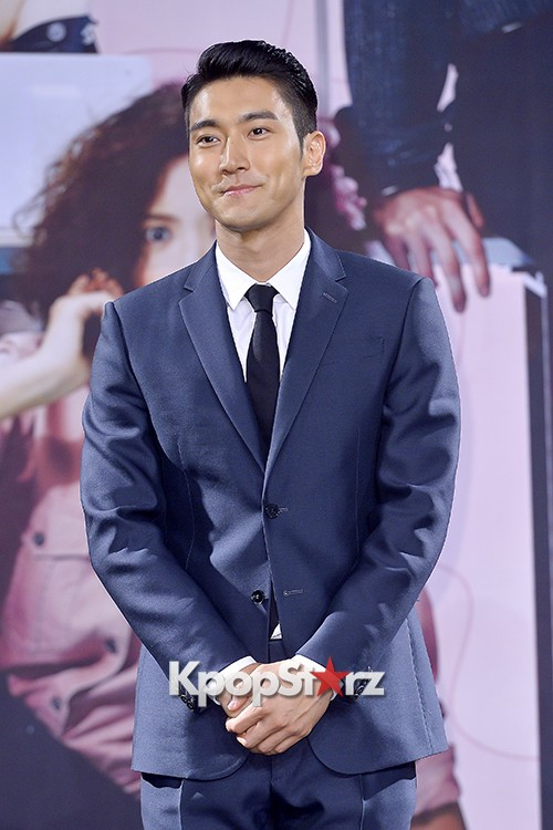Super Junior's Choi Siwon at a Press Conference of MBC Drama 'She Was Pretty' key=>5 count39