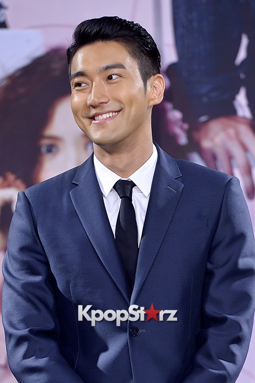 Super Junior's Choi Siwon at a Press Conference of MBC Drama 'She Was Pretty' key=>6 count39