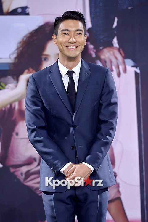 Super Junior's Choi Siwon at a Press Conference of MBC Drama 'She Was Pretty' key=>9 count39