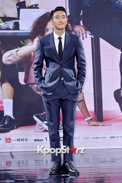 Super Junior's Choi Siwon at a Press Conference of MBC Drama 'She Was Pretty' key=>11 count39