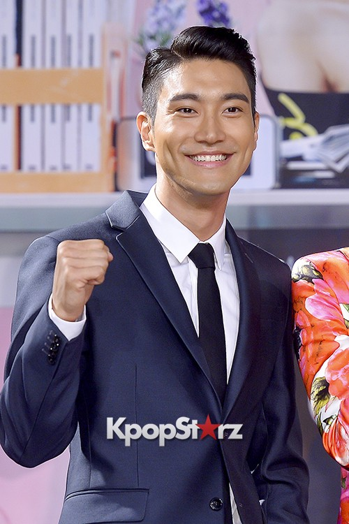 Super Junior's Choi Siwon at a Press Conference of MBC Drama 'She Was Pretty' key=>14 count39