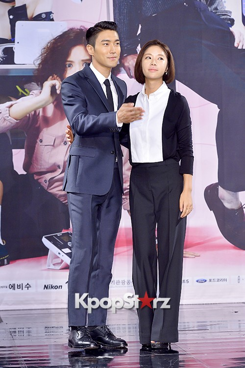 Super Junior's Choi Siwon at a Press Conference of MBC Drama 'She Was Pretty' key=>34 count39