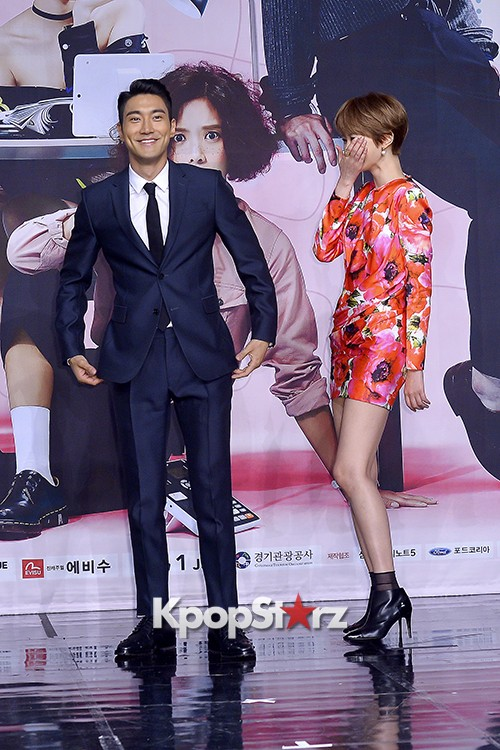 Super Junior's Choi Siwon at a Press Conference of MBC Drama 'She Was Pretty' key=>36 count39