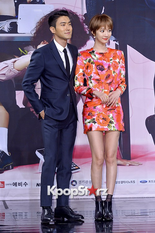 Super Junior's Choi Siwon at a Press Conference of MBC Drama 'She Was Pretty' key=>37 count39