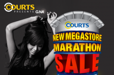G.NA for Singapore's Courts Megastore