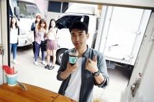 Siwon She Was Pretty Fan Food Truck