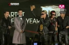 Big Bang Wins Artist of The Year at MAMA 2012