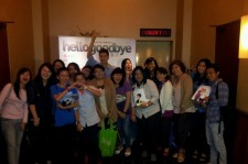 Eru Sells Out His Stage Greetings For Indonesian Movie 'Hello Goodbye'