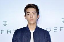 Nam Joo Hyuk Attends DEFAYE Launching Event