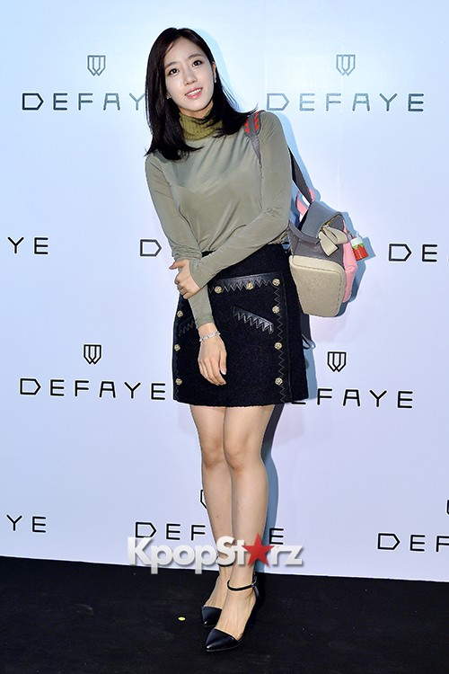 T-ara's Eunjung Attends DEFAYE Launching Event key=>3 count19