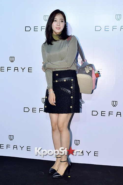 T-ara's Eunjung Attends DEFAYE Launching Event key=>4 count19