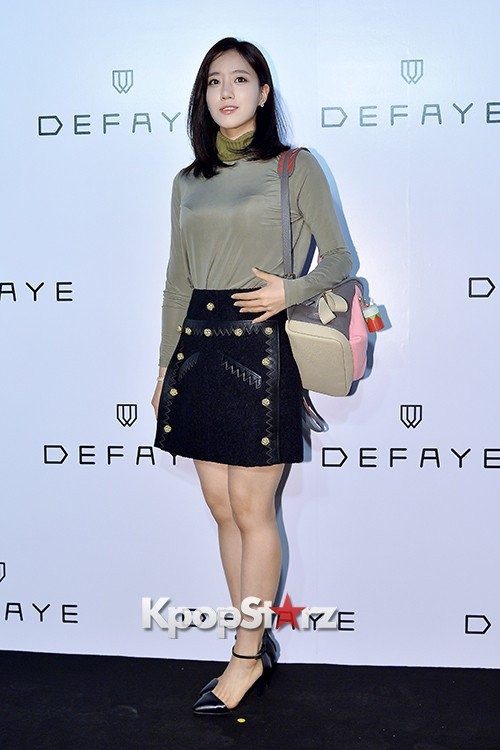 T-ara's Eunjung Attends DEFAYE Launching Event key=>6 count19