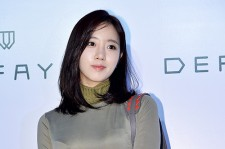 T-ara's Eunjung Attends DEFAYE Launching Event