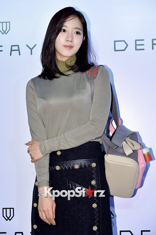 T-ara's Eunjung Attends DEFAYE Launching Event key=>0 count19