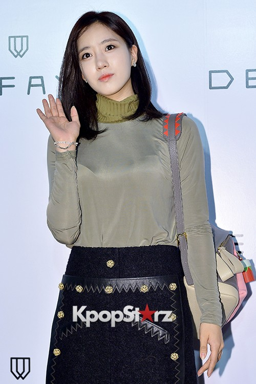T-ara's Eunjung Attends DEFAYE Launching Event key=>9 count19
