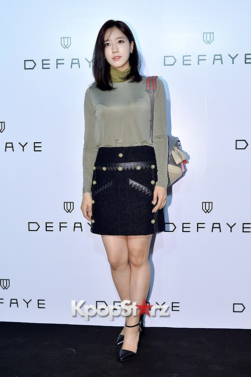 T-ara's Eunjung Attends DEFAYE Launching Event key=>10 count19