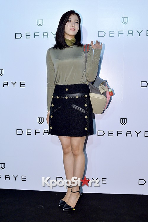 T-ara's Eunjung Attends DEFAYE Launching Event key=>12 count19