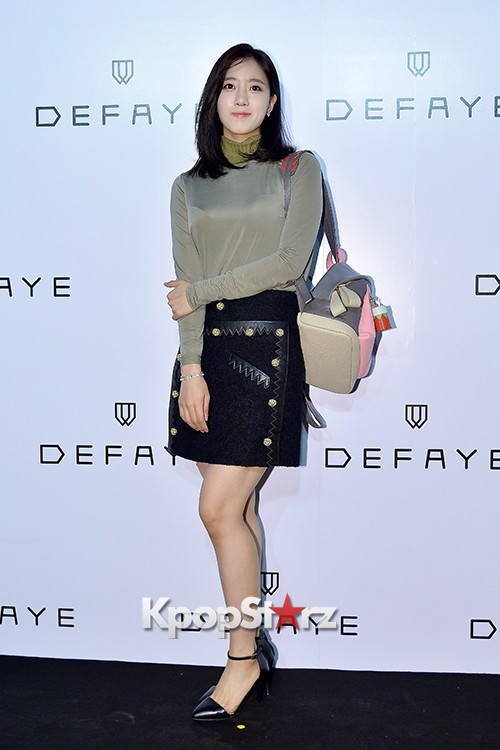 T-ara's Eunjung Attends DEFAYE Launching Event key=>13 count19
