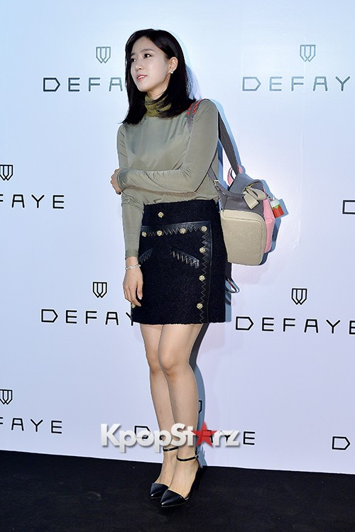 T-ara's Eunjung Attends DEFAYE Launching Event key=>14 count19